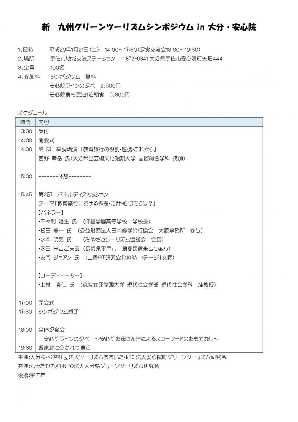 九州GTシンポ