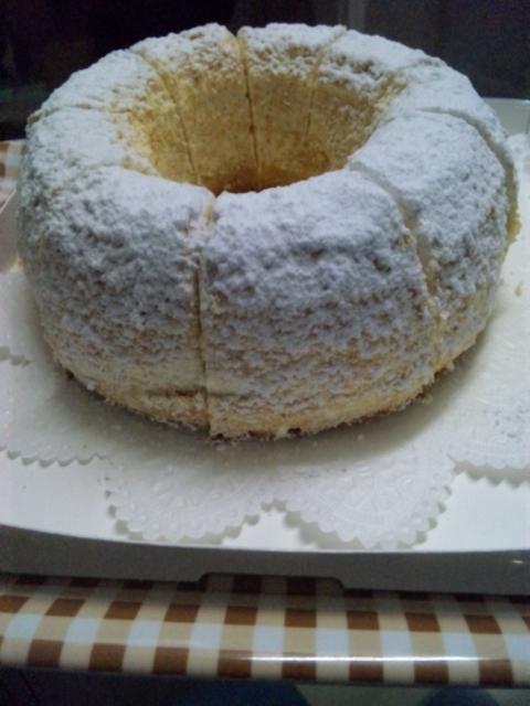 天使の輪ケーキ