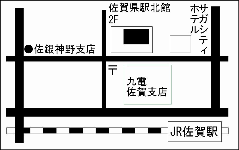 佐賀センター地図