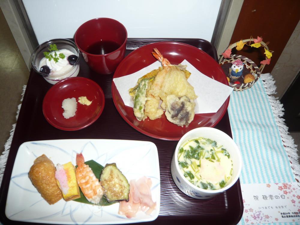 9月敬老寿司