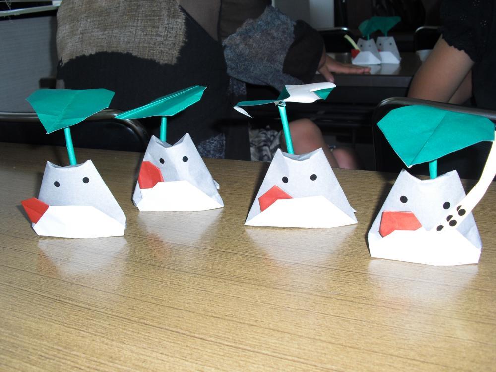 すべての折り紙 ジブリ折り紙作り方 : 折り紙講座を開催致しました ...