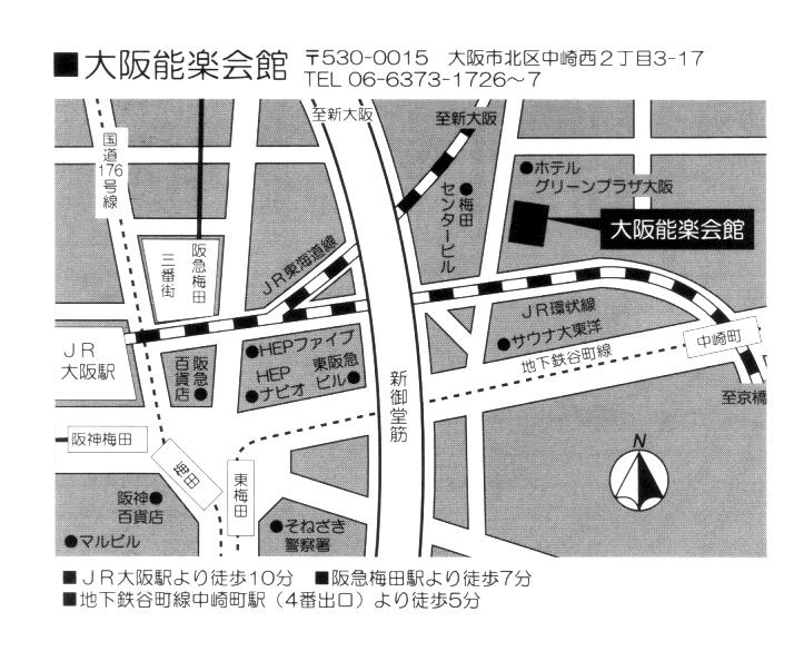 能楽開館MAP