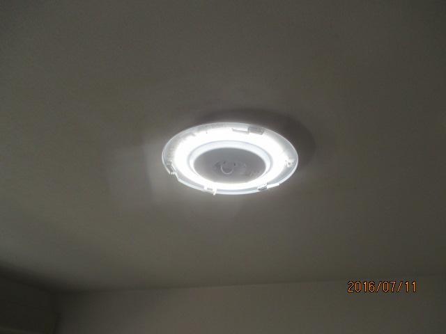 天井照明交換2