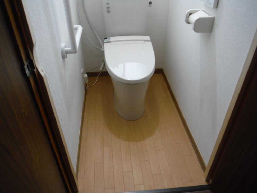 介護保険トイレ完了