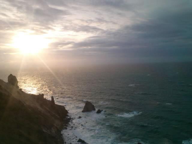 小樽の夕日