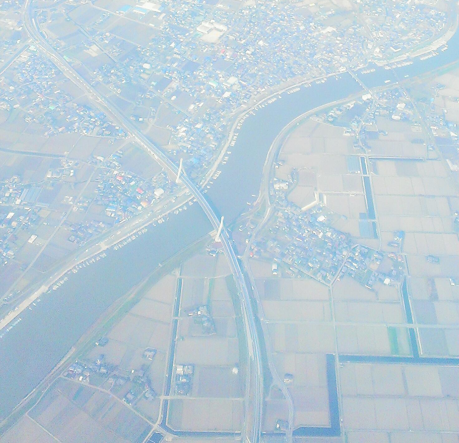 沿岸道路大和橋上空