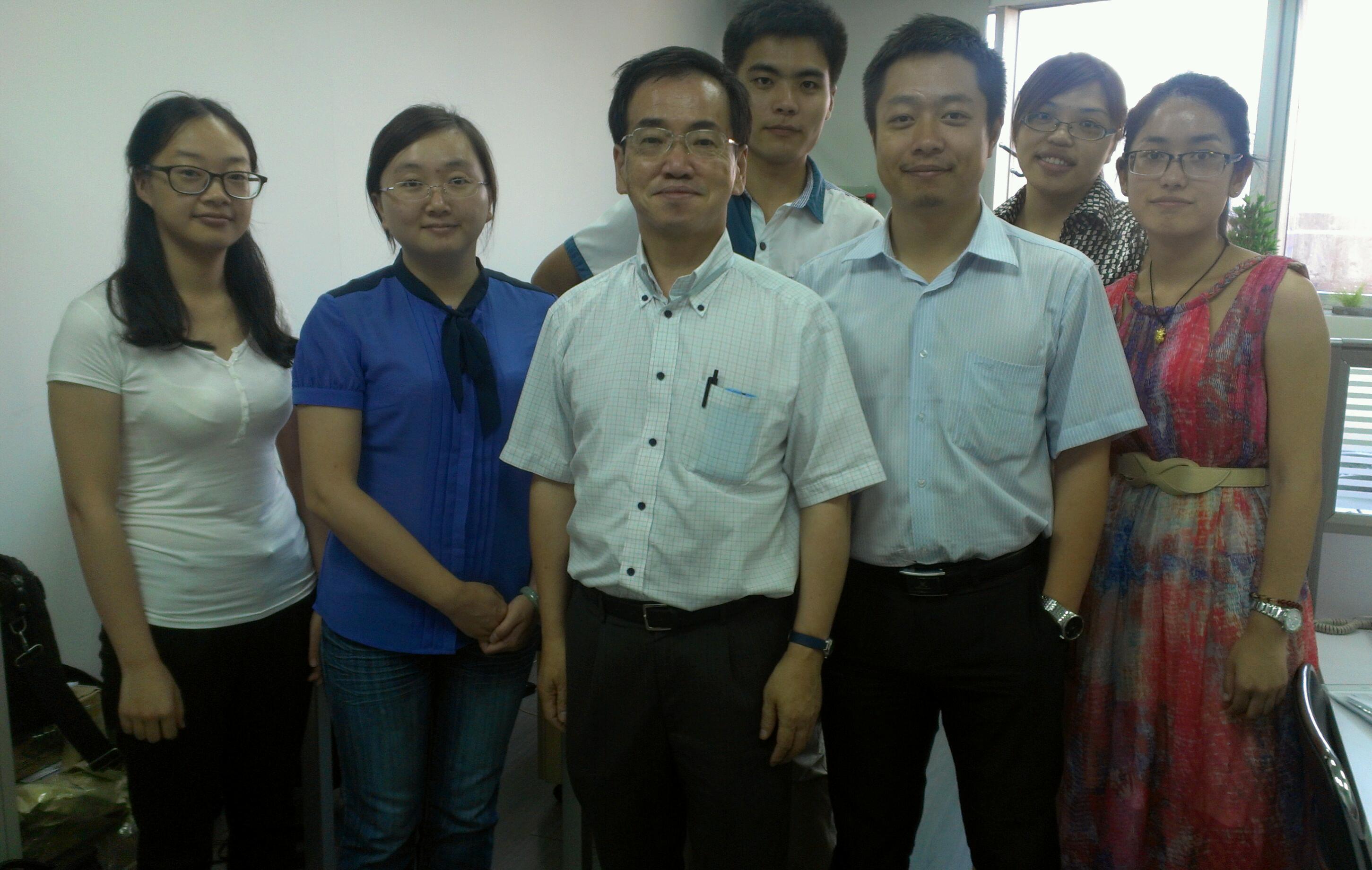 上海事務所のスタッフ
