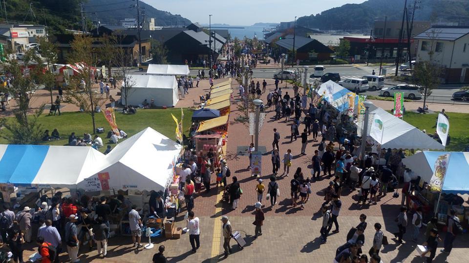 秋刀魚祭(女川)2