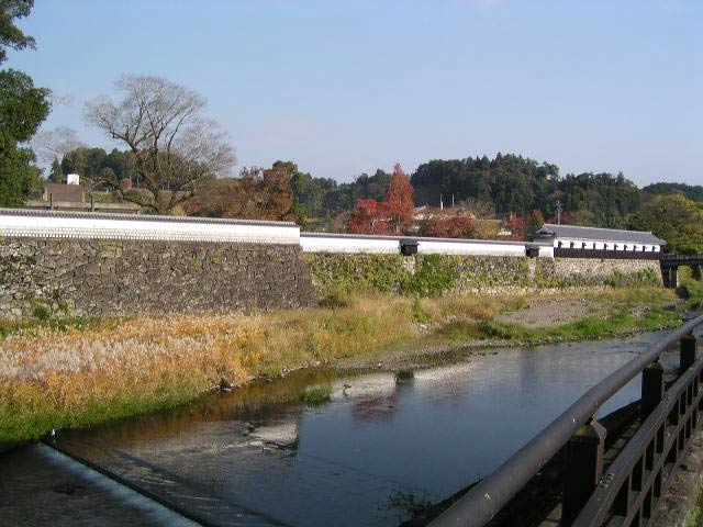 人吉城跡長塀