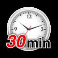 iPhone修理時間、平均30分