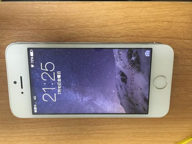 iPhone5S復旧