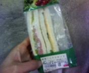 昼のサンドイッチ