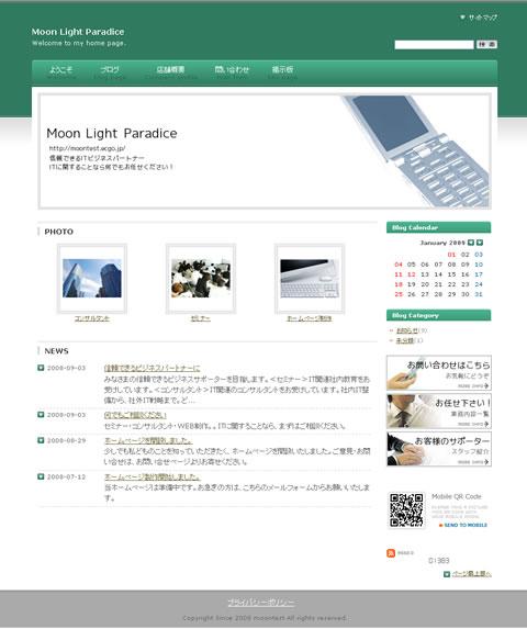 ビジネスK(緑)