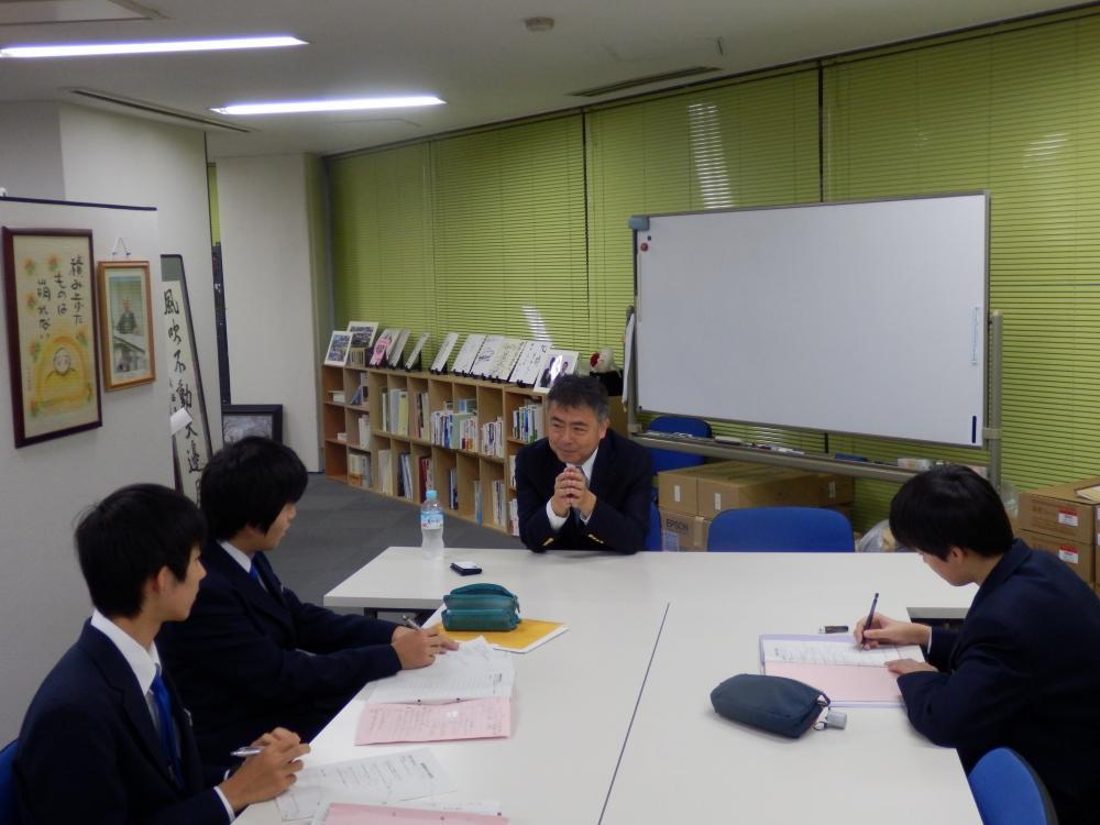 中学生による職場体験