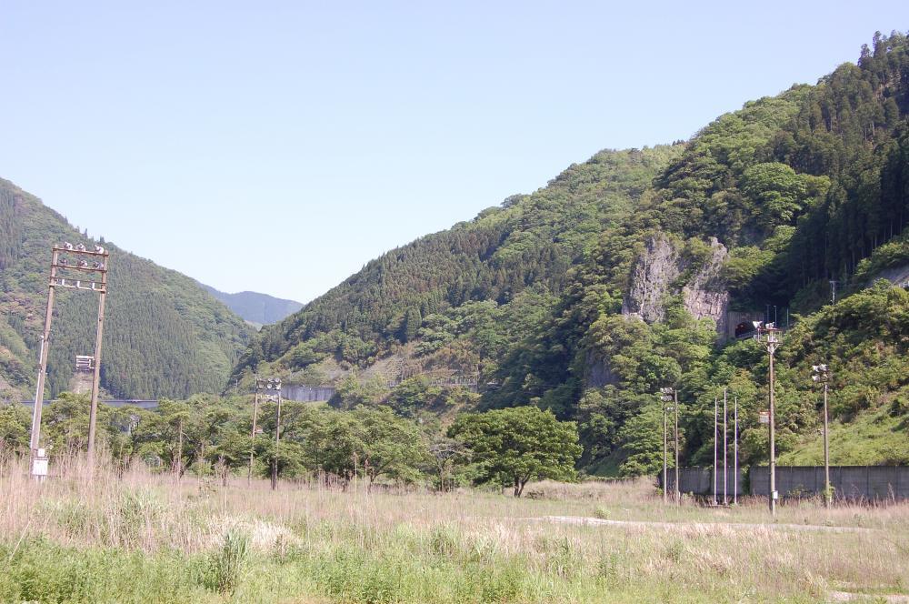 五木村の風景