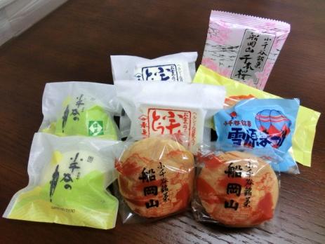 小千谷のお菓子