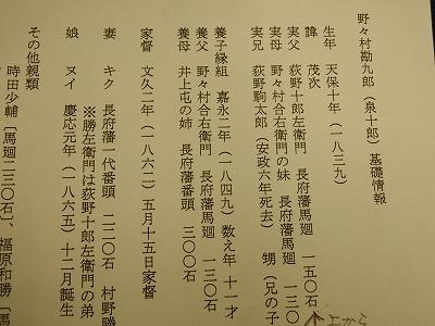 野野村勘九郎