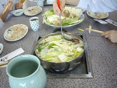 香蘭ちり鍋