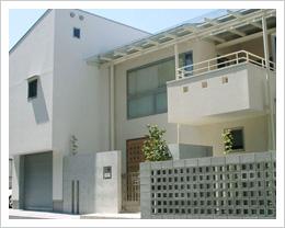 水源の住宅