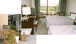 宿泊ロッジ