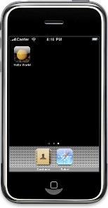 iPhoneシミュレータ2