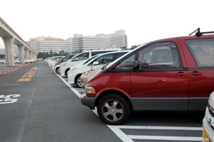 駐車場@東京ディズニーリゾート!