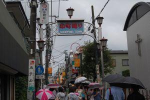 雨の商店街2