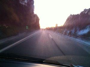 雪の中国道3