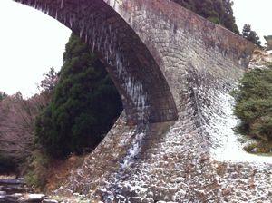 冬の通潤橋2
