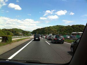 五月の渋滞