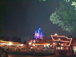 TDLの夜景2012