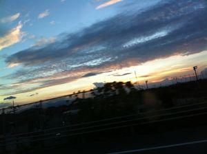 夏の日の夕焼け2