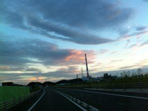夏の日の夕焼け3