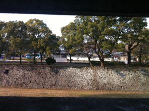 近くに熊本城!