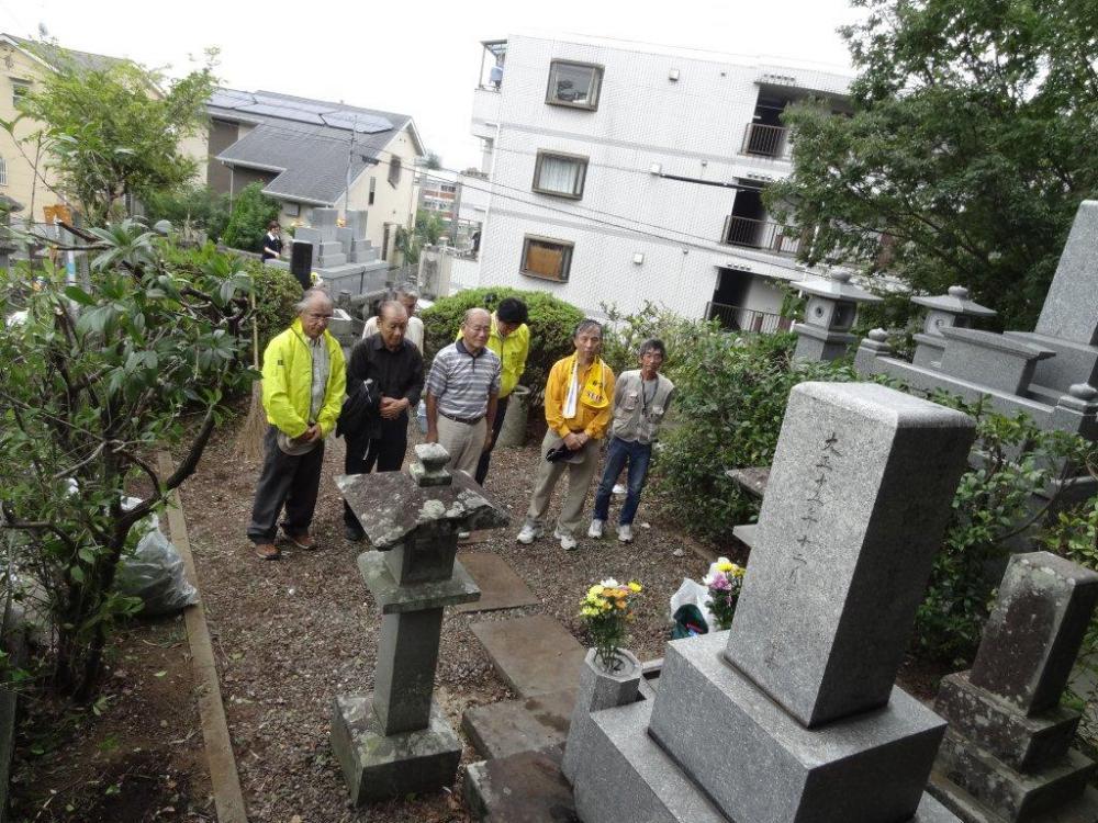 秋の墓参(5)