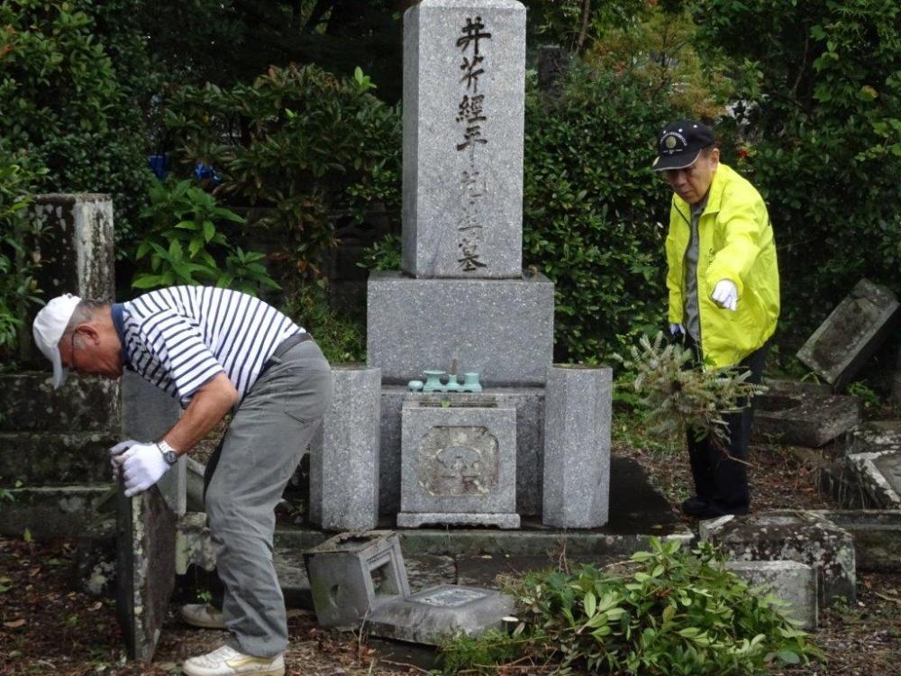 墓参(1)