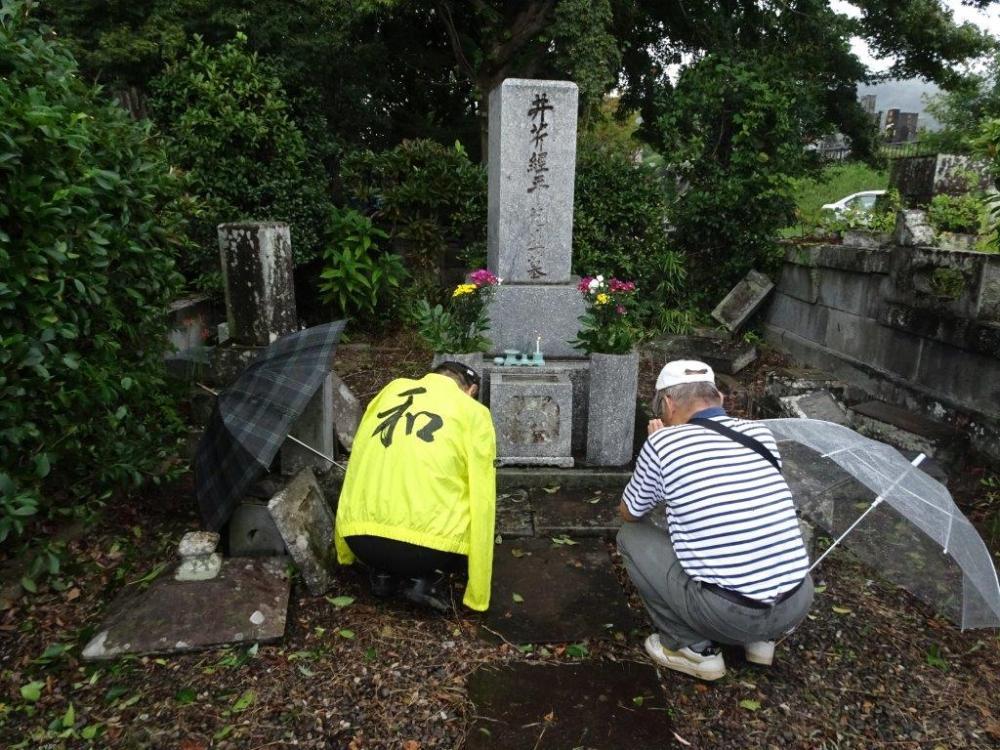 墓参(2)
