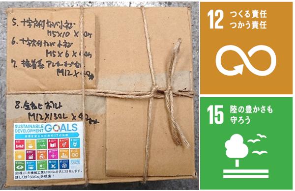 SDGs梱包