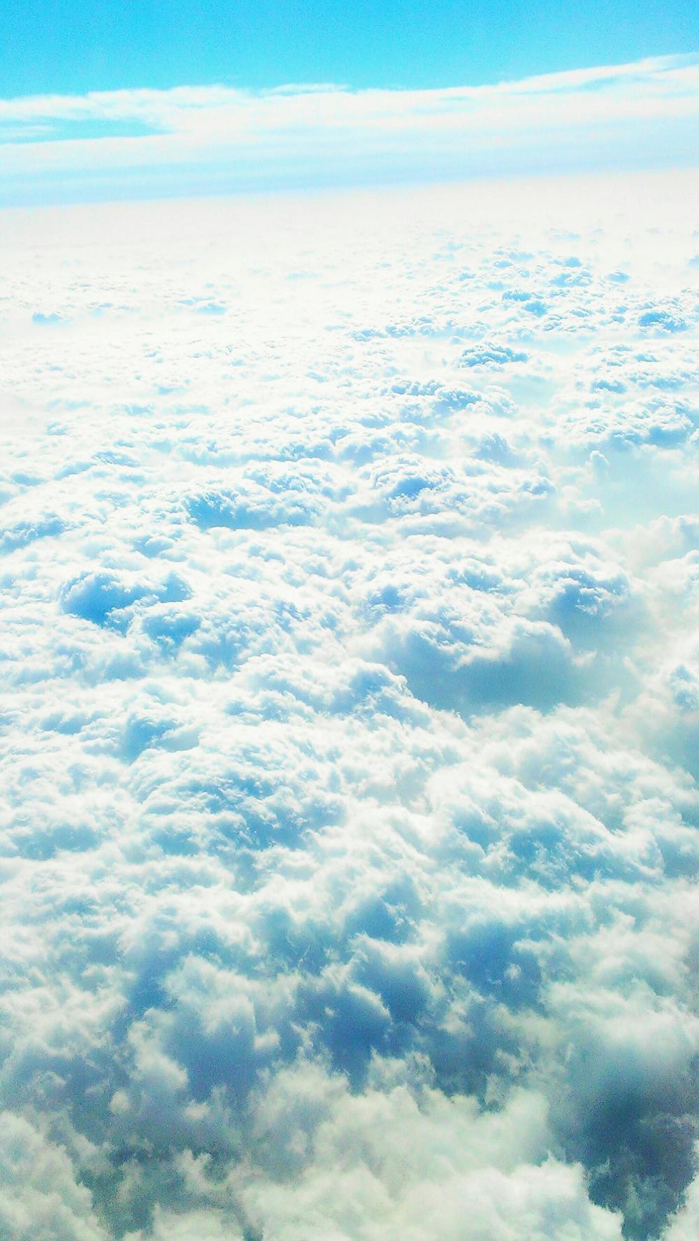上海帰りの上空2