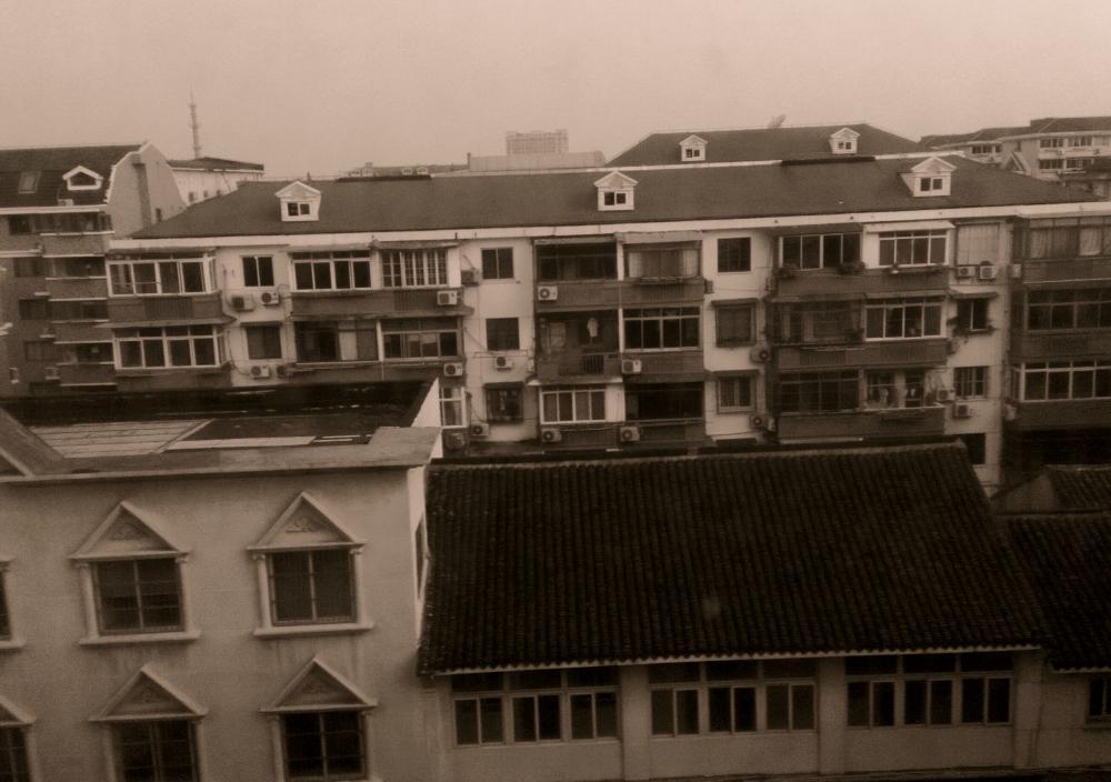 上海南翔朝の風景