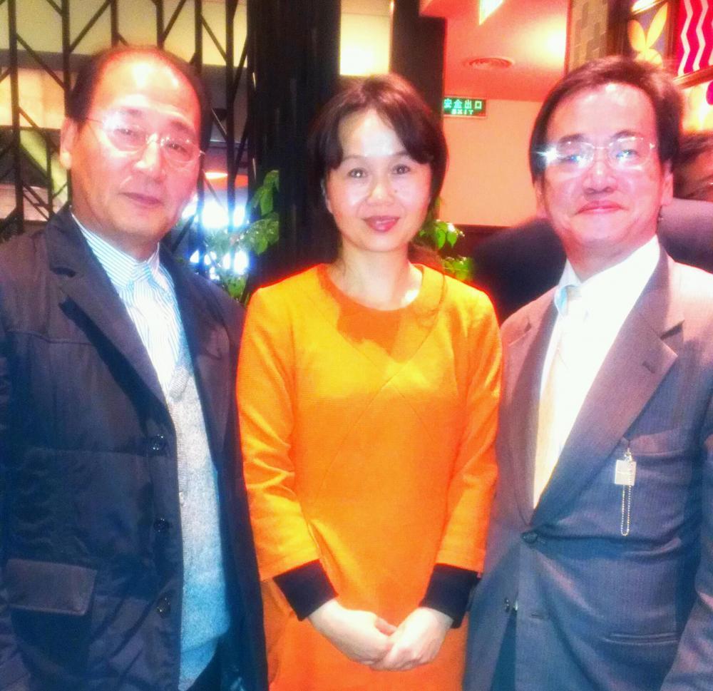 唐川さんと小川先生