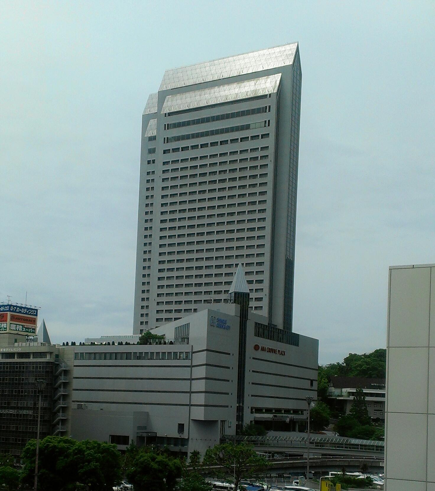 ANA 新神戸にて
