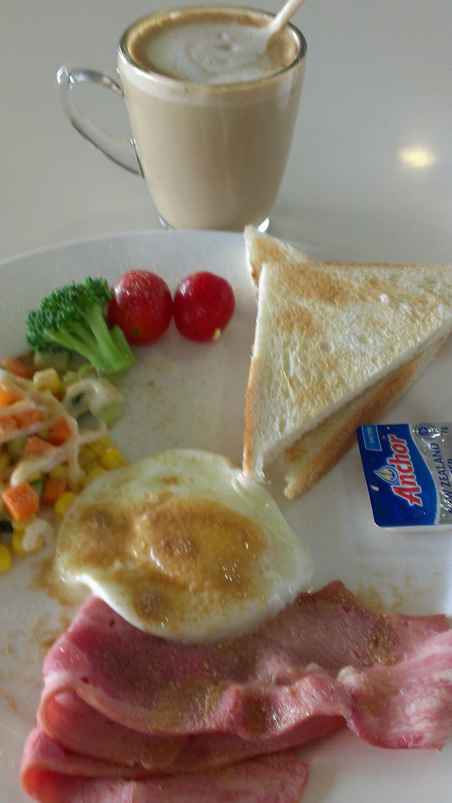 朝食にミキBIO-C