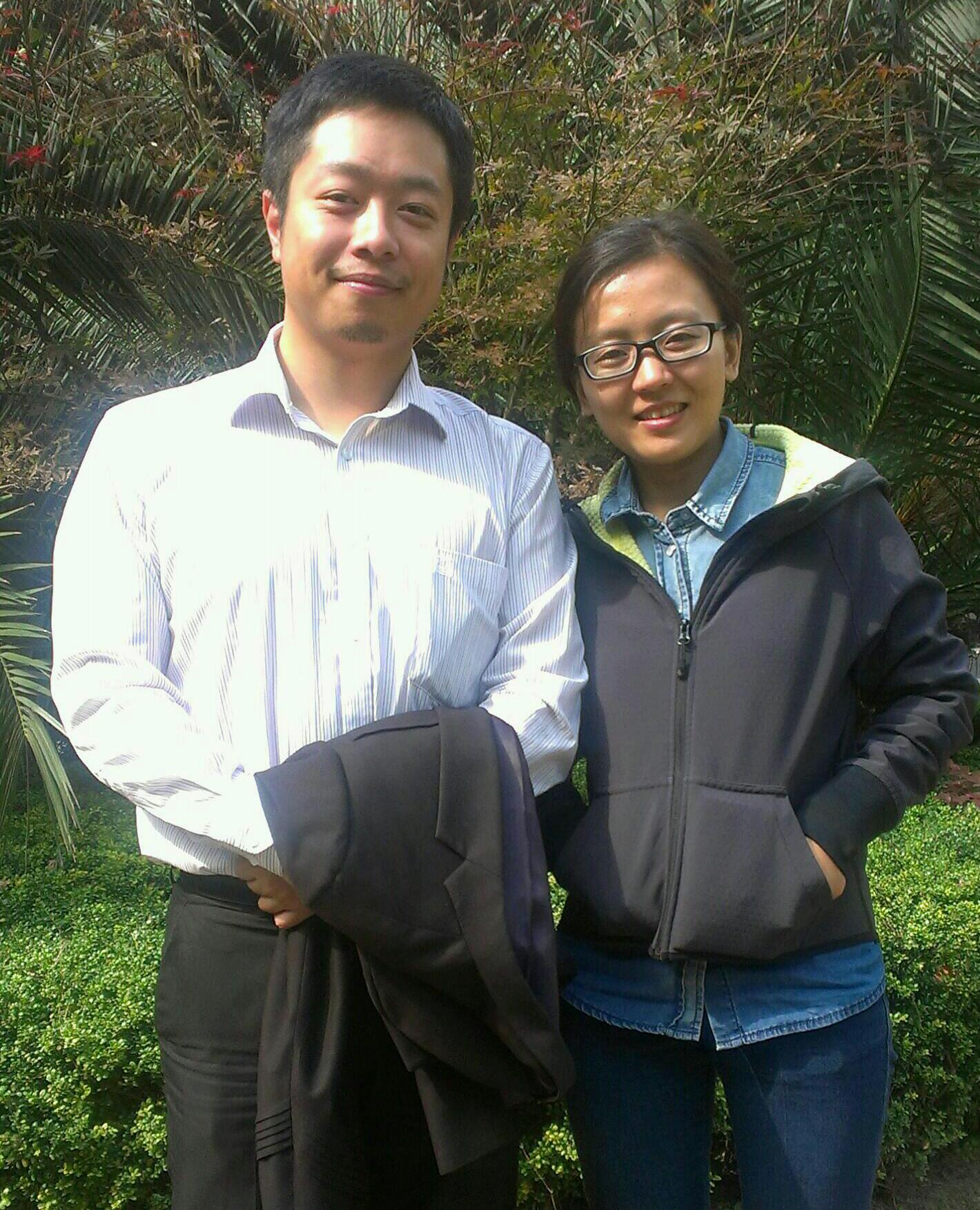 丁さんと劉さん