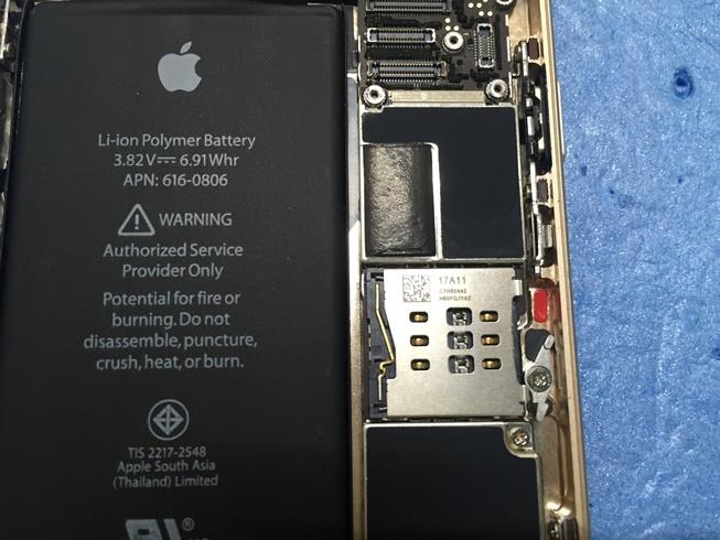 iPhone6水没