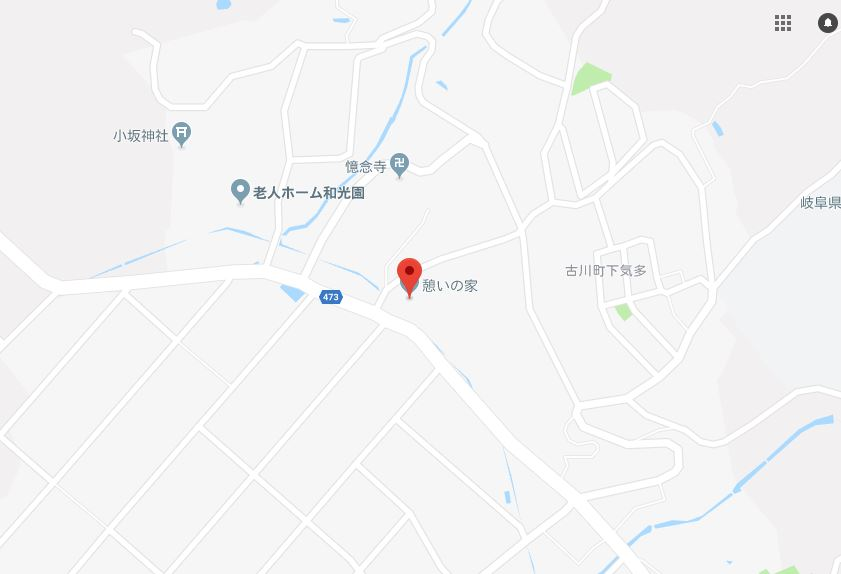 憩いの家MAP