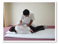 腰椎の調整法