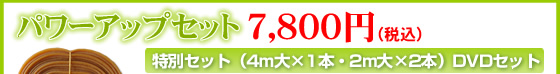 バラコンバンド・パワーアップセット7,800円